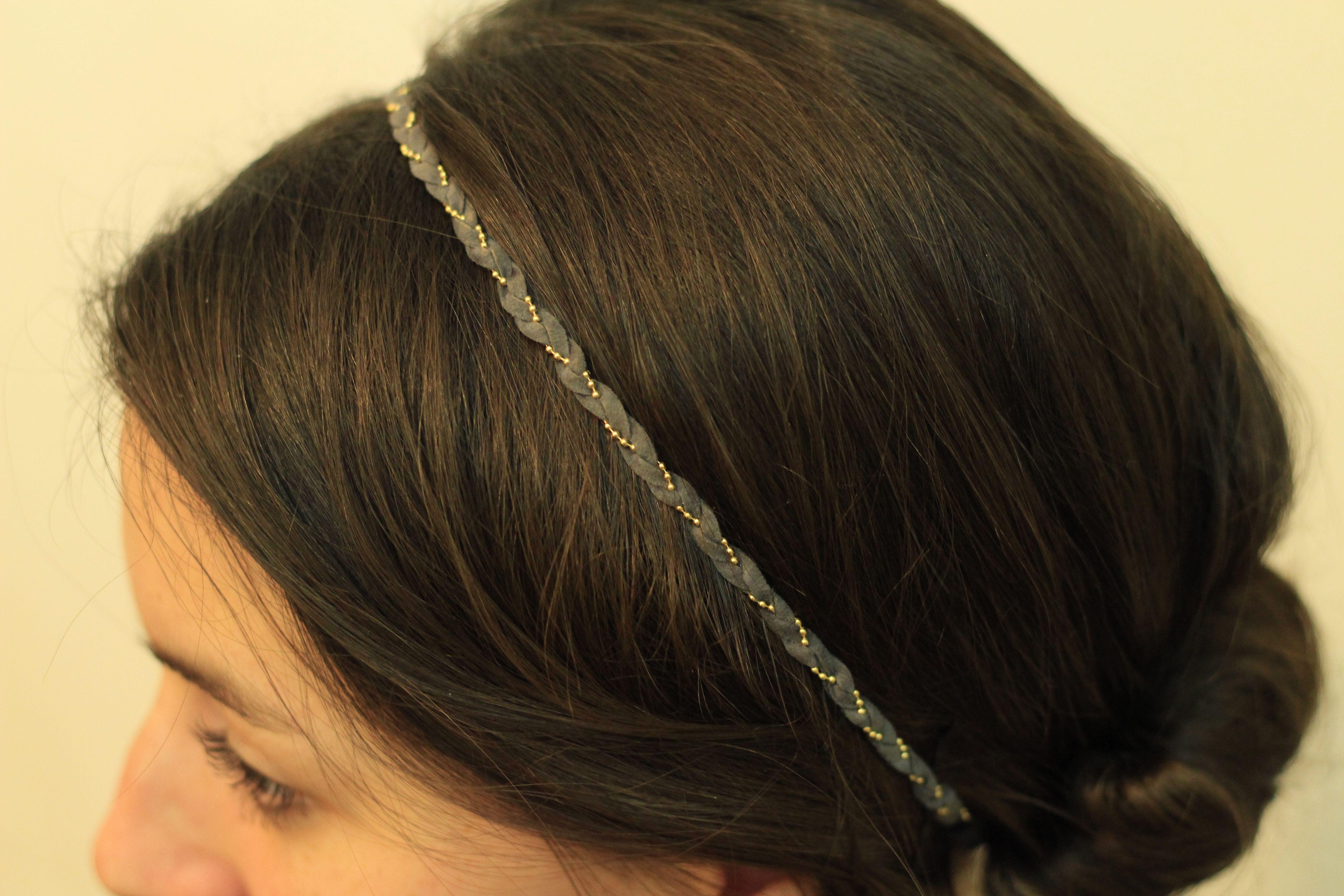 Headband Suedine Anthracite -- https://www.etsy.com/fr/listing/179060023/headband-suedine-anthracite?ref=related-1