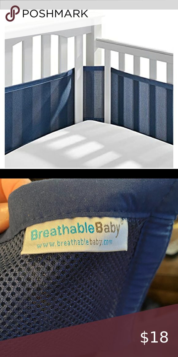 Breathable Baby Mesh Crib Liner In 2020 Crib Liners Breathable Liner