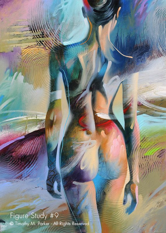 Figure Study #9 u2022 Abstract Nude Fine Art Print u2022 Limited Edition - Poser Papier A Peindre