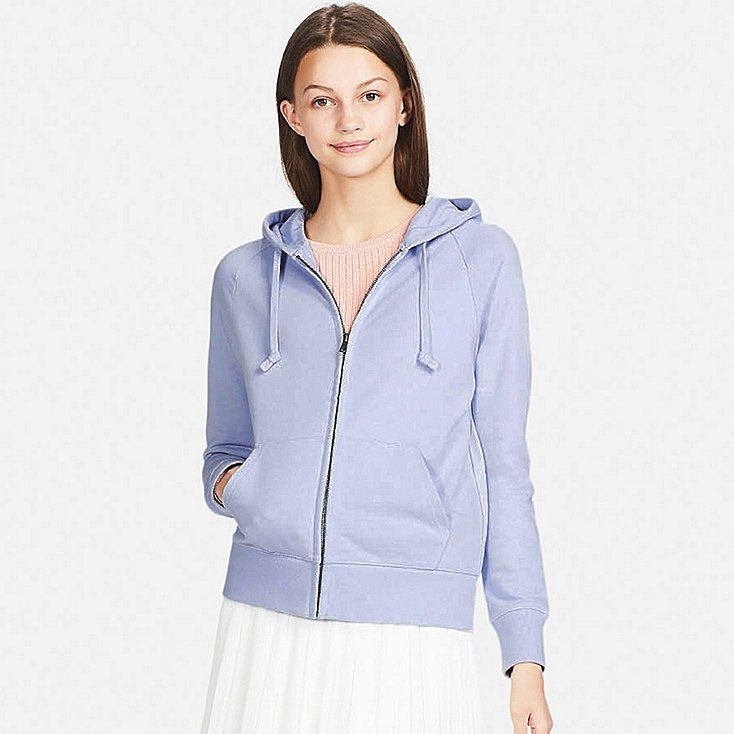 e5ae2999d2 Women sweat long-sleeve full-zip hoodie