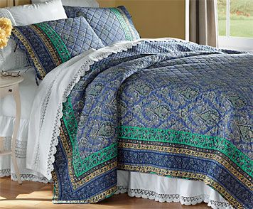 Just found this Traditional Country-Style Bedding - Marianne Quilt ... : country style quilt patterns - Adamdwight.com