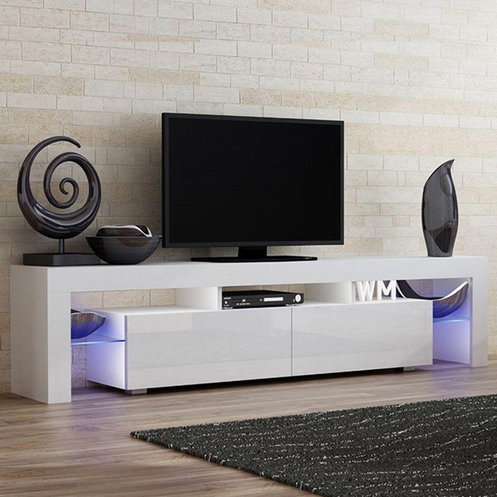 Milano 200 White Tv Stand Milano Meble Furniture Tv Stands In 2020 Tv Stand White Tv Stands Tv Stand Unit