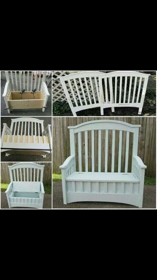I want to do this with my kids crib