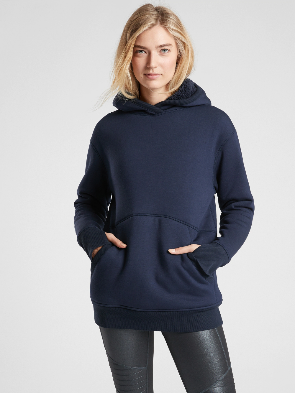 Reversible Sherpa Sweatshirt Athleta Sherpa Sweatshirt Sweatshirts Fashion [ 1333 x 1000 Pixel ]