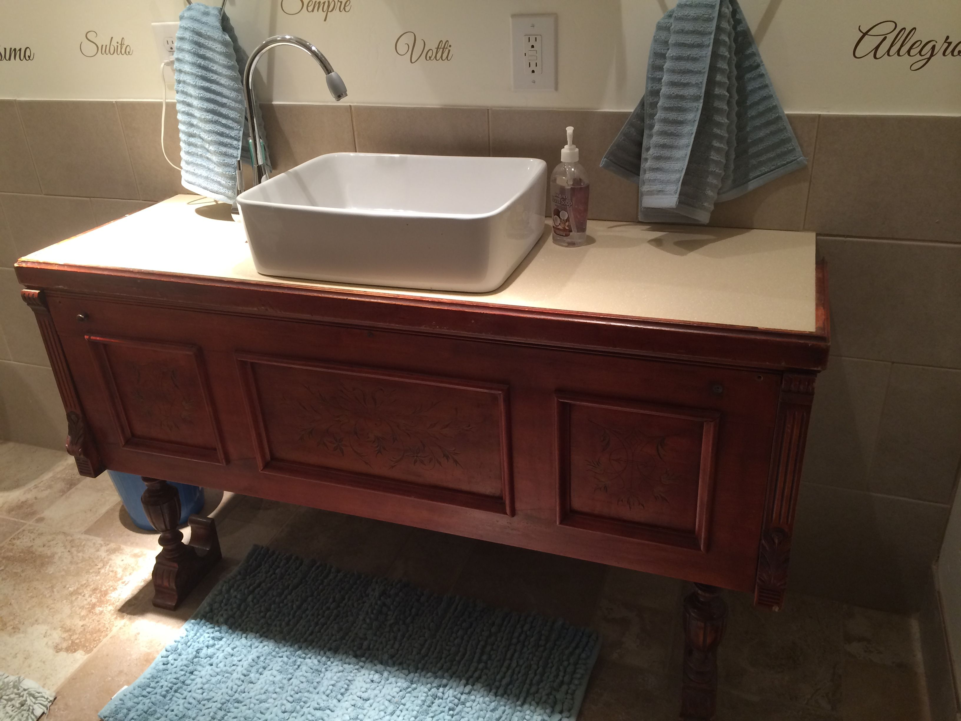 style sarasota chic vanity shabby cottage bathroom repurposed awesome custom furniture vanities haus dutch of