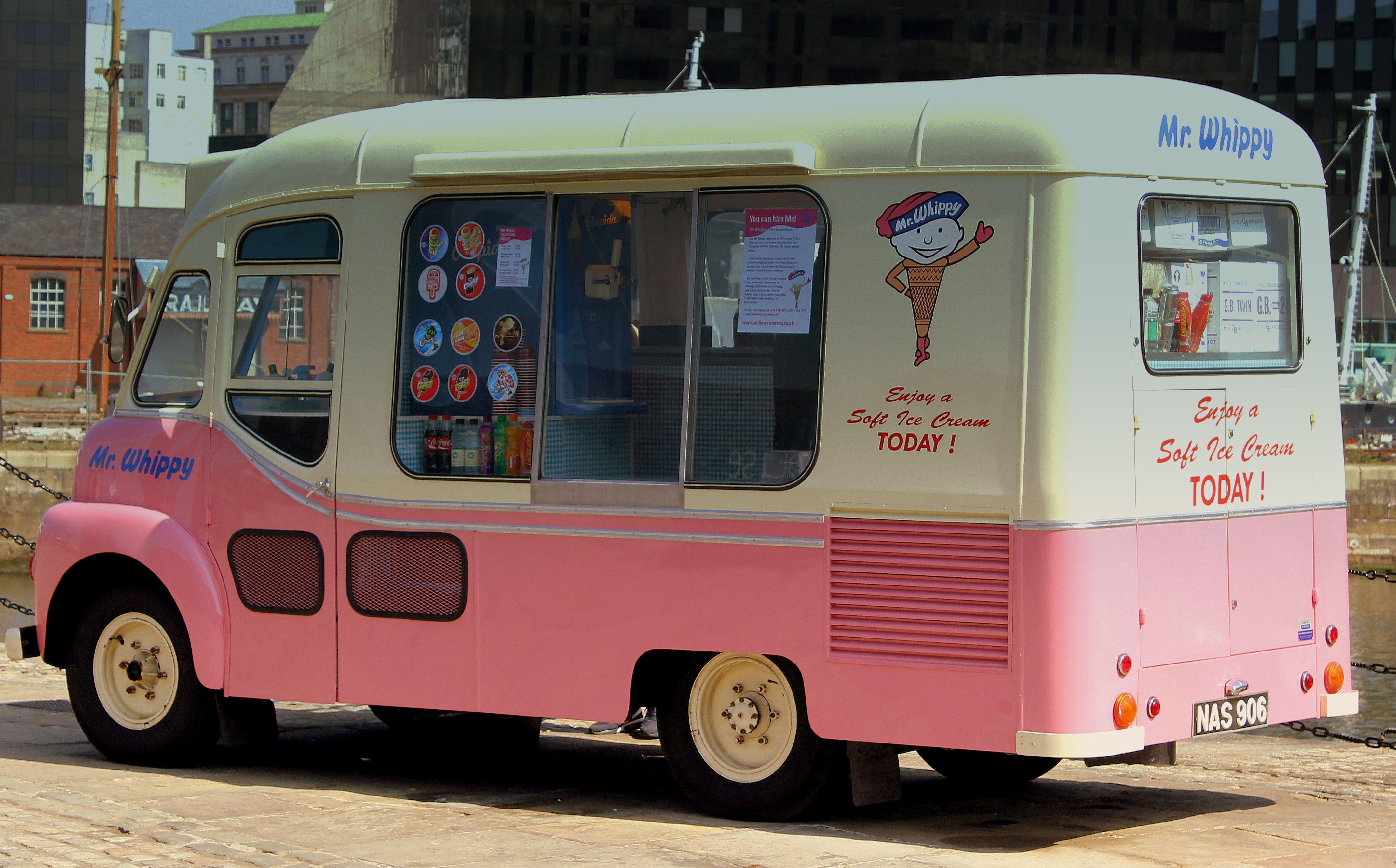 Ice Cream Van Mr Whippy