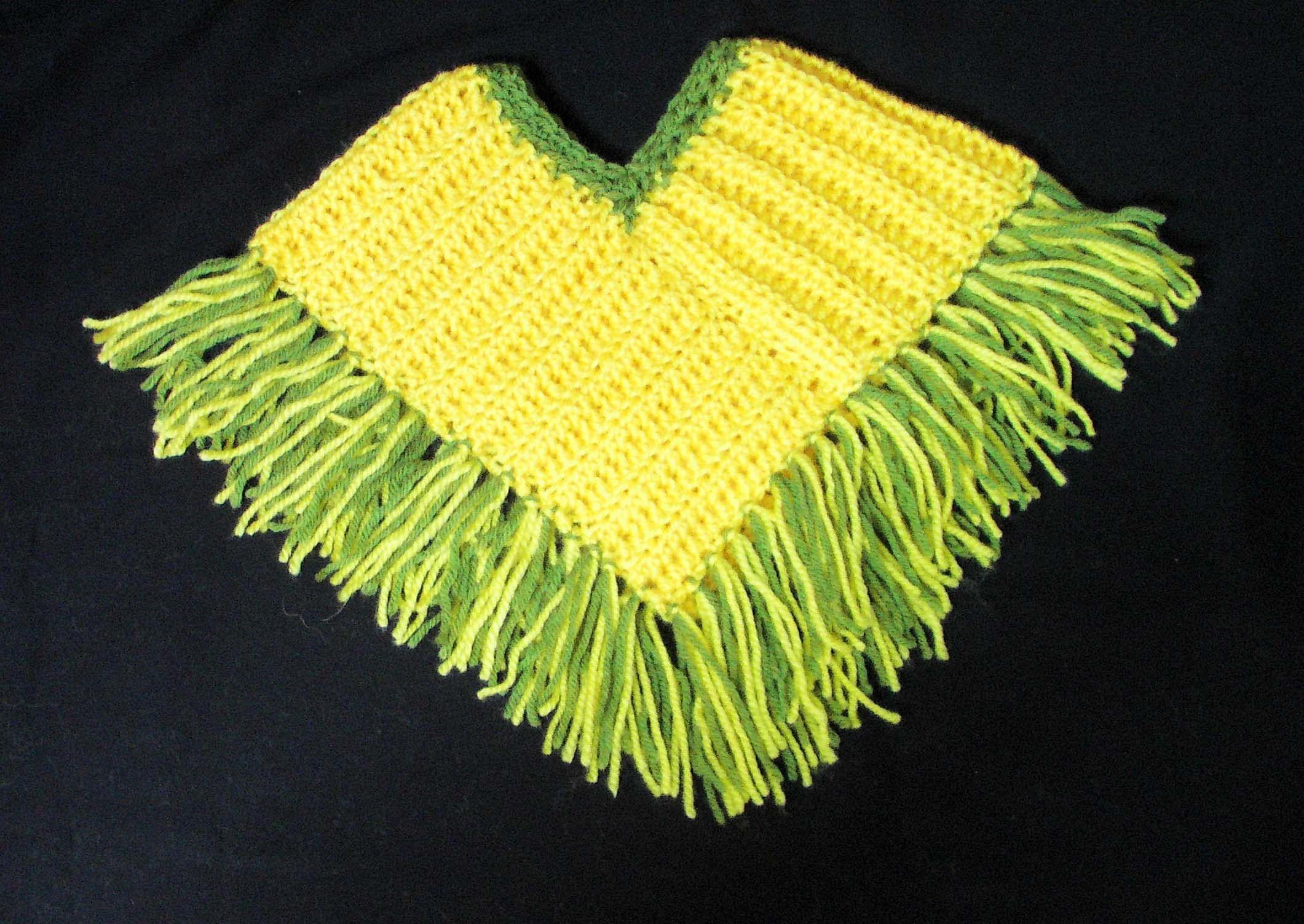 Πλεκτο Ποντσο / Crochet Poncho Tutorial | πλεκτα ποντσο-εσαρπες ...