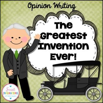 Child Discipline Essay After Reading Websites About Famous Inventors And Inventions Students Will  Write A Persuasive Essay Which Gives Their Opinion Of The Greatest Invention   Same Sex Marriage Essay also Example Of A Five Paragraph Essay Opinion Writing Greatest Invention Ever  Homeschool Resources  Essay About The Internet