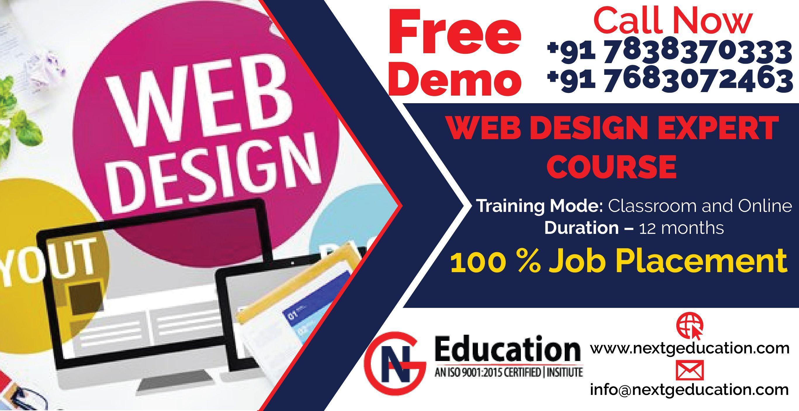 Best Web Design Courses Delhi Web Design Design Course Web Design Course
