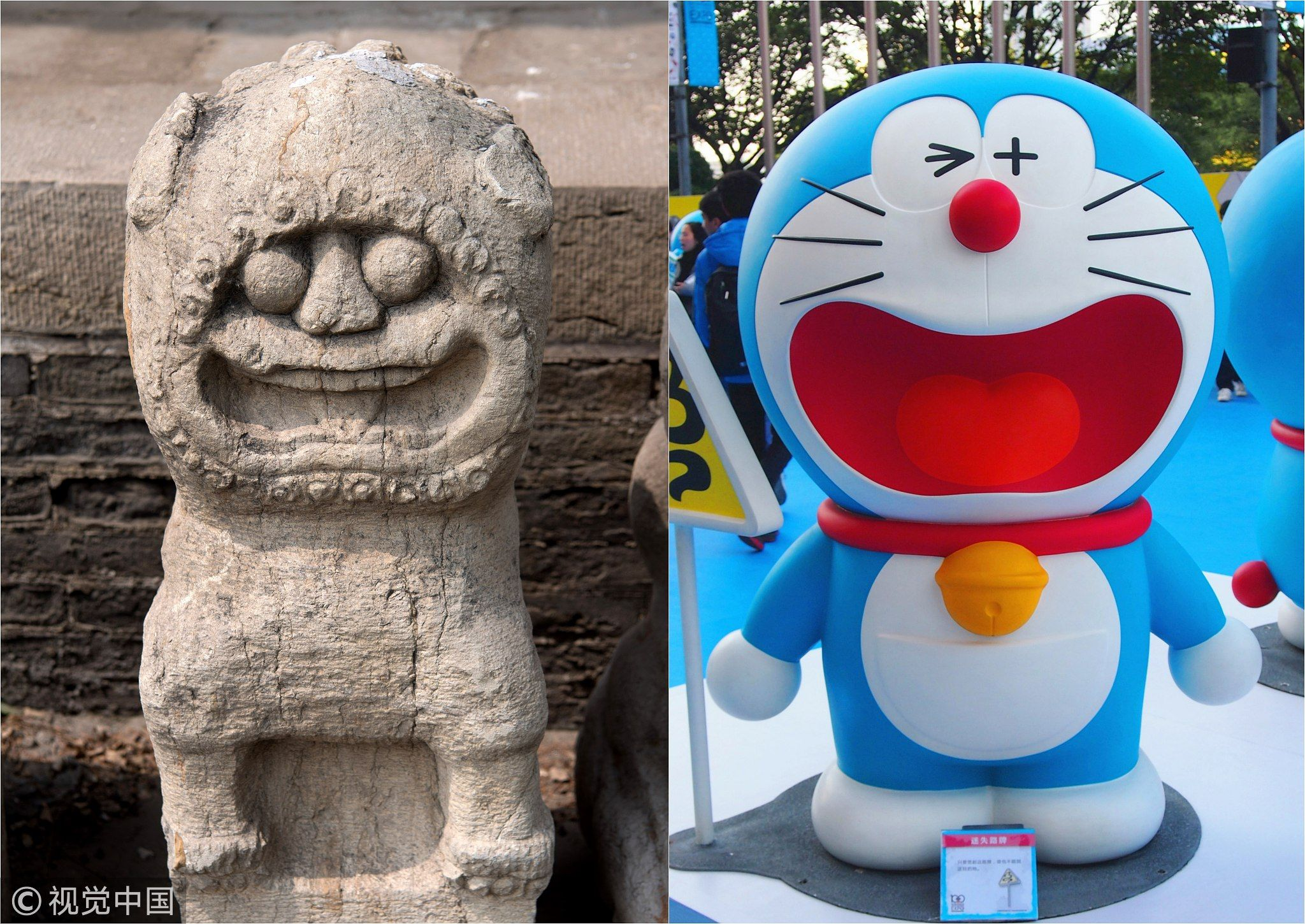 Hundreds Of Lion Statues Currently On Display At A Folk Culture Museum In Northwest China S Taiyuan City Have Amused Internet Users With The Statue Museum Folk
