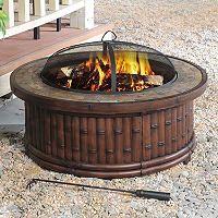 Sunjoy 36 Kohala Natural Fire Pit Sam S Club Natural Fire Pit