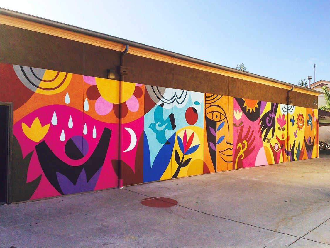 Rafael lópez studio art in pinterest school murals art
