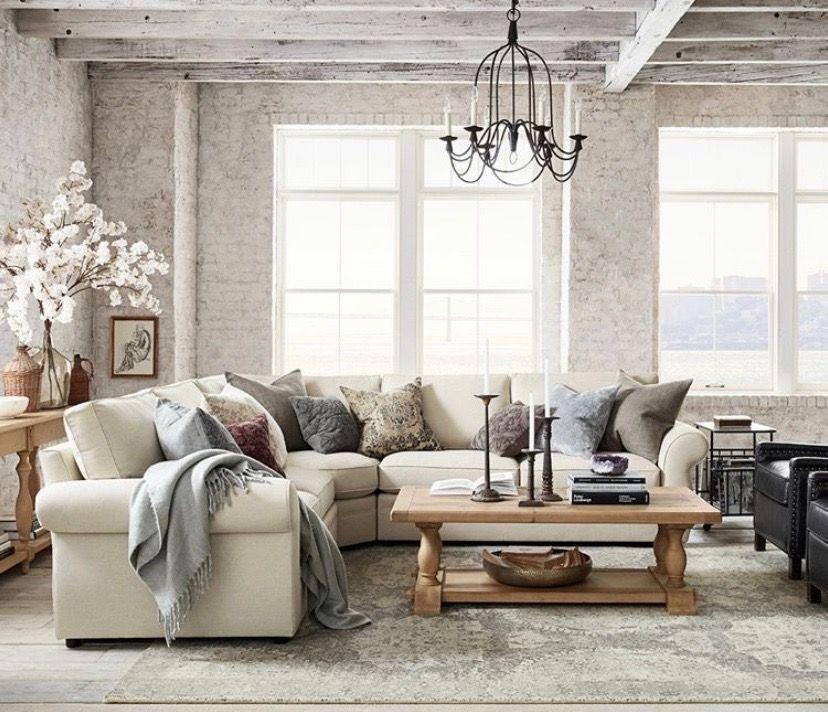 pinlaura bergmann on living room  pottery barn living