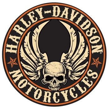 Flying Skull Button Sign Harley Davidson Logo Harley Davidson Signs Harley Davidson Tattoos