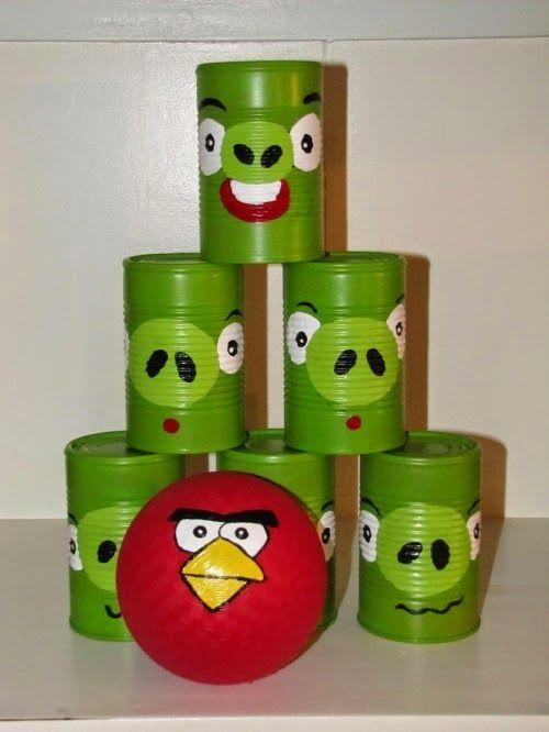 Askartelupankki: Itsetehty Angry birds peli
