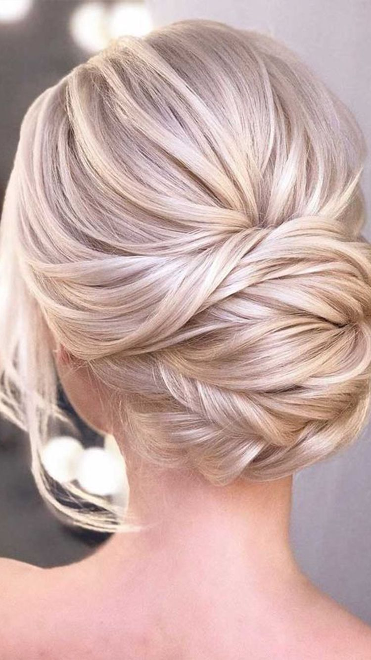 Simple Holiday Updos For Curly Or Straight Hair