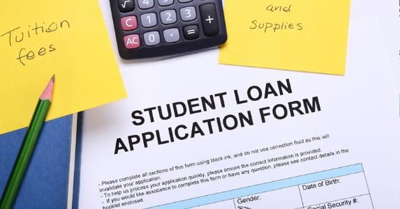 Doing some homework before you take out college loans can help you - students loan application form