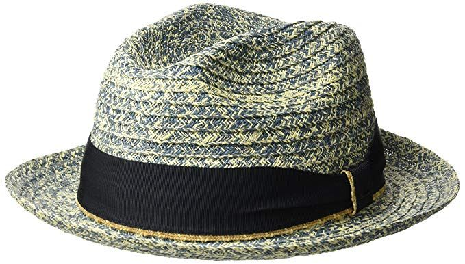 fd1bd20aca377 Bailey of Hollywood Men s Romeo Braided Straw Fedora Trilby Hat Review