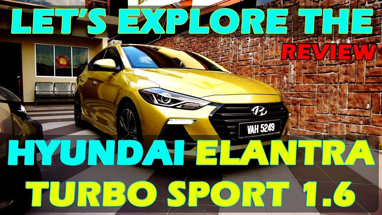 I Drove the Hyundai Elantra Turbo Sport 1.6 (2018) Review