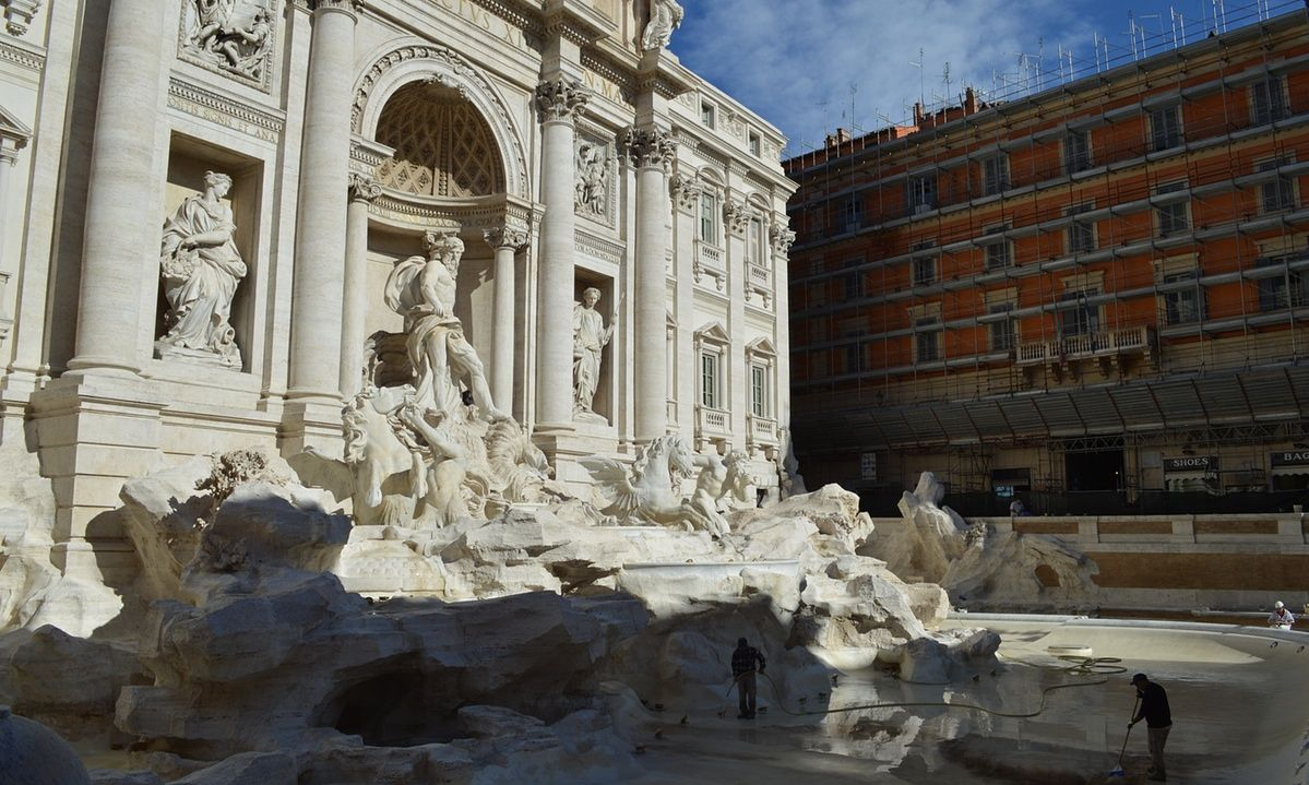 The Trevi and other landmarks of the Eternal City to be restored to their former glory