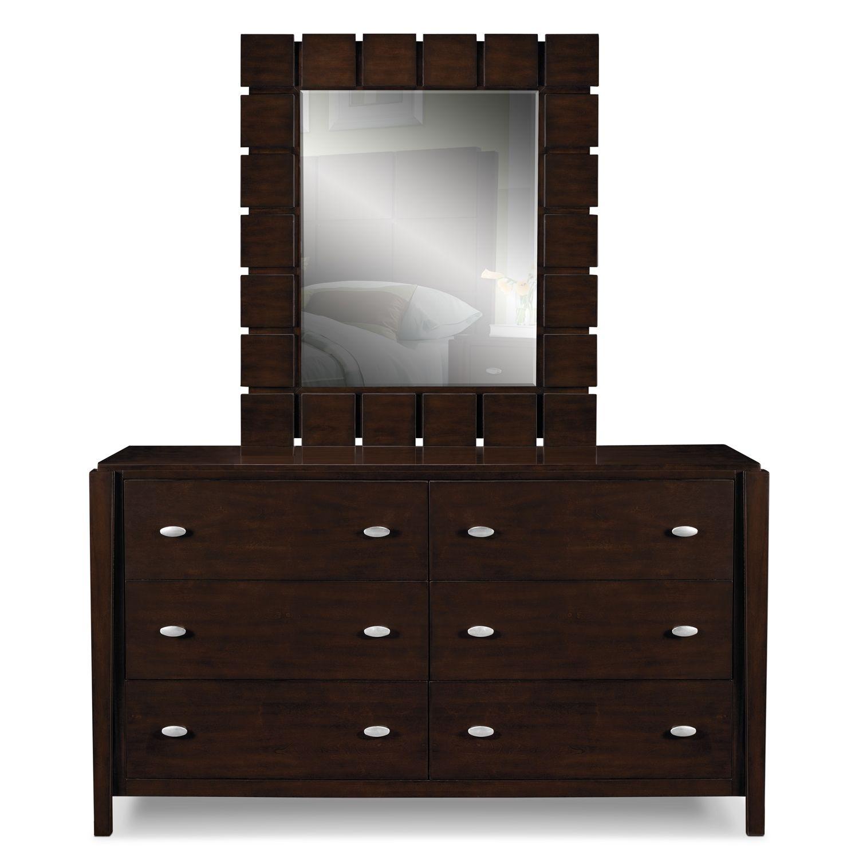 mosaic bedroom furniture. American Signature Furniture - Mosaic Bedroom Dresser \u0026 Mirror, $499.99 #BuyOnlineASF M