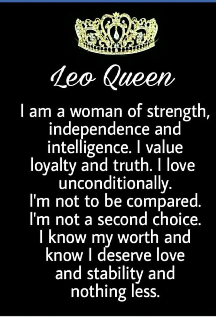 Leo Quotes | Horoscope Memes Quotes That S So Me Pinterest Leo Leo