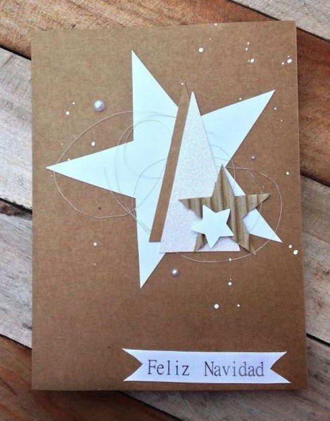 Postales para felicitar la Navidad ideas para crear tu propia