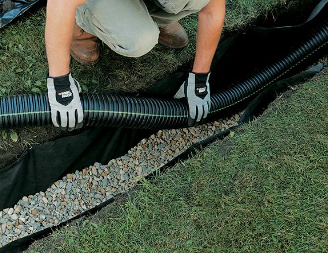 Radio The Diy Drain That Will Save You Thousands French Drain