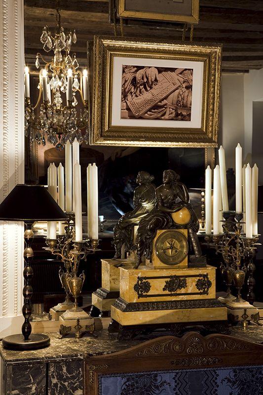 Neoclassical setting - Olivier Berni Intérieurs