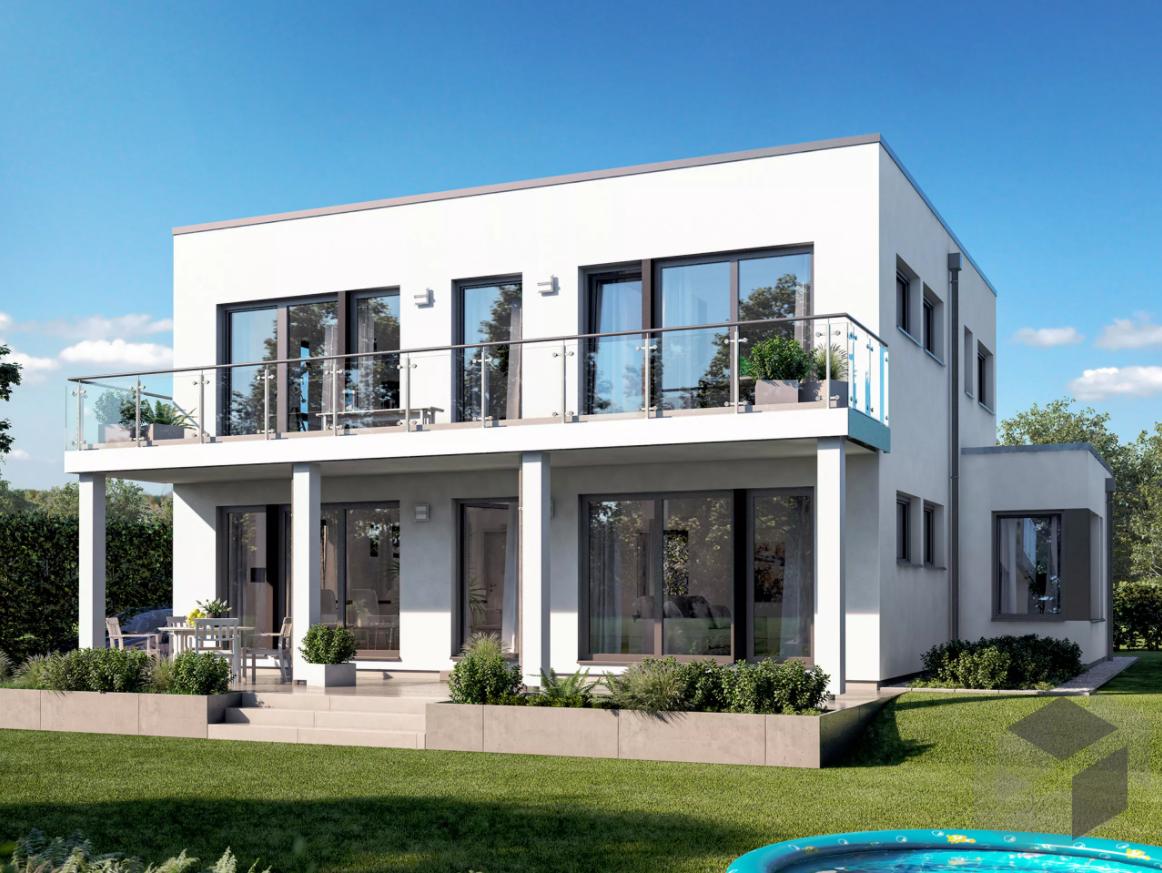 Pin auf Cubushäuser moderne Häuser mit Flachdach und