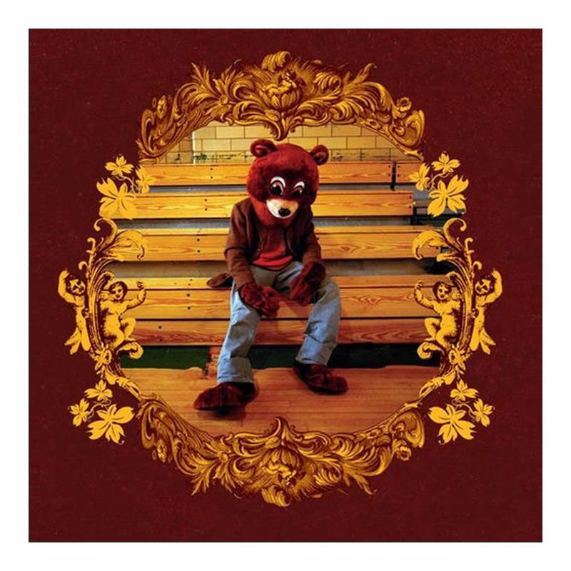 College Dropout Cover Hip Hop Albums Album Cover Art Kanye West Albums