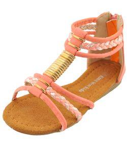 """Eddie Marc Girls """"My Mykonos"""" Sandals (Toddler Sizes 5 – 10) - CookiesKids.com"""