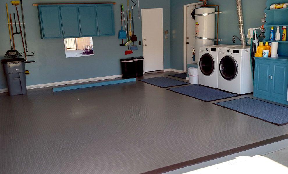 Diamond Nitro Rolls Premium Grade Vinyl Garage Floor Rolls Vinyl Garage Flooring Garage Floor Flooring
