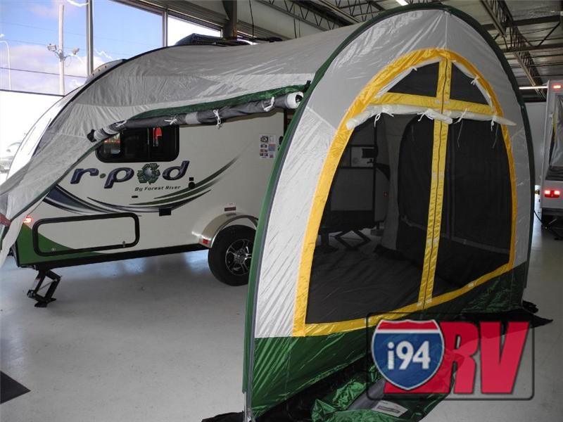 Forest River R Pod Tear Drop Travel Trailer Rv With Tent R Pod