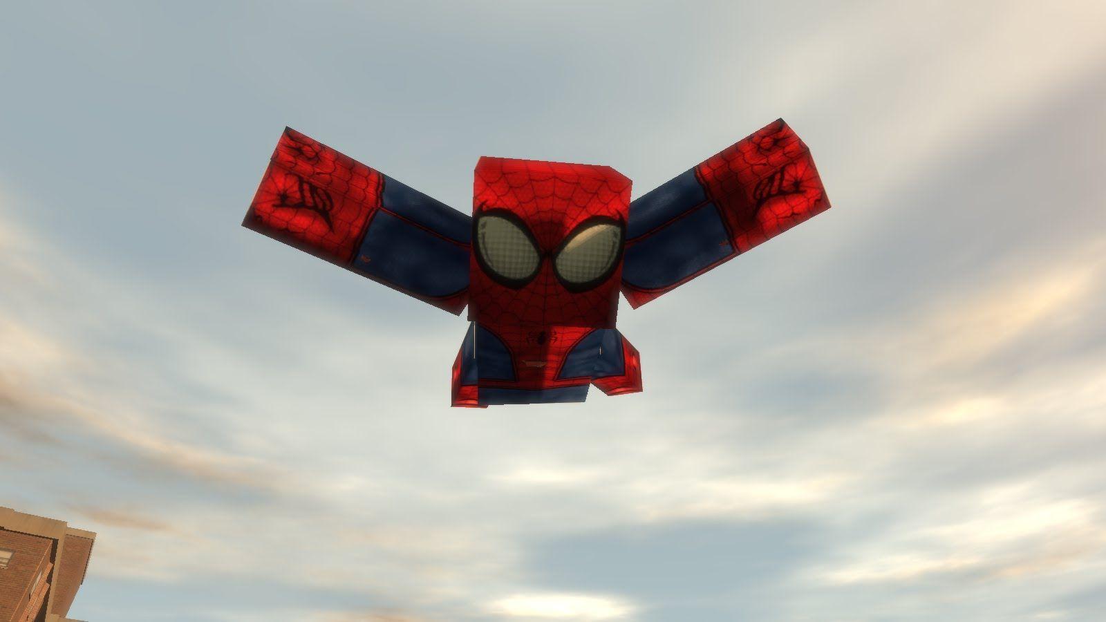 GTA IV - Minecraft Spider Man