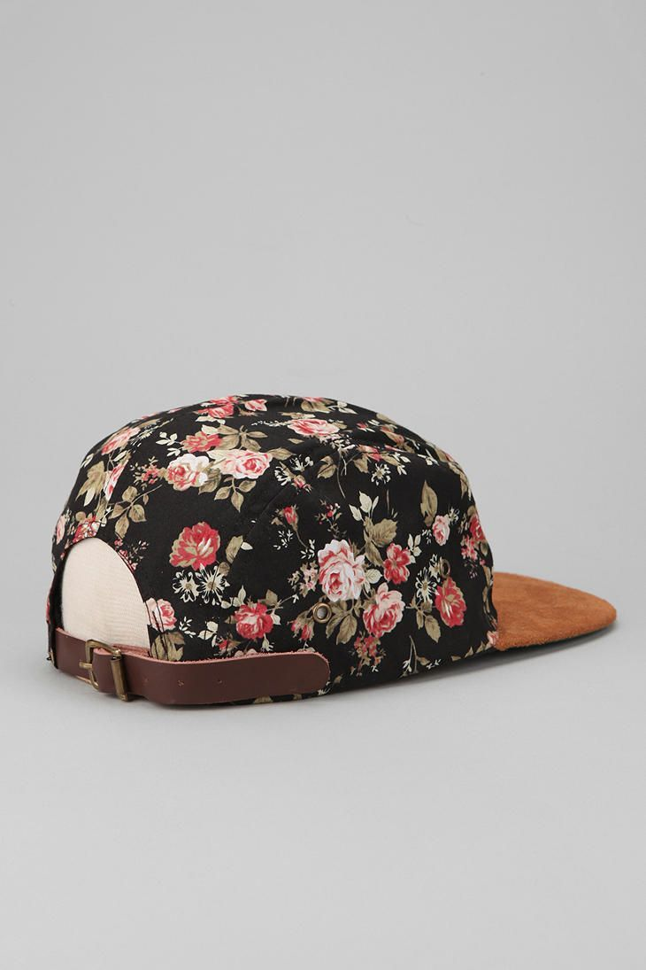 Profound Aesthetic X UO Portland Suede Brim Strapback Hat - Urban Outfitters