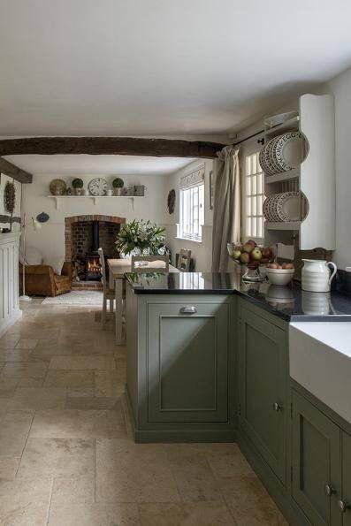 Best Pretty Cottage Kitchen Cottage Kitchens Farm Style 400 x 300