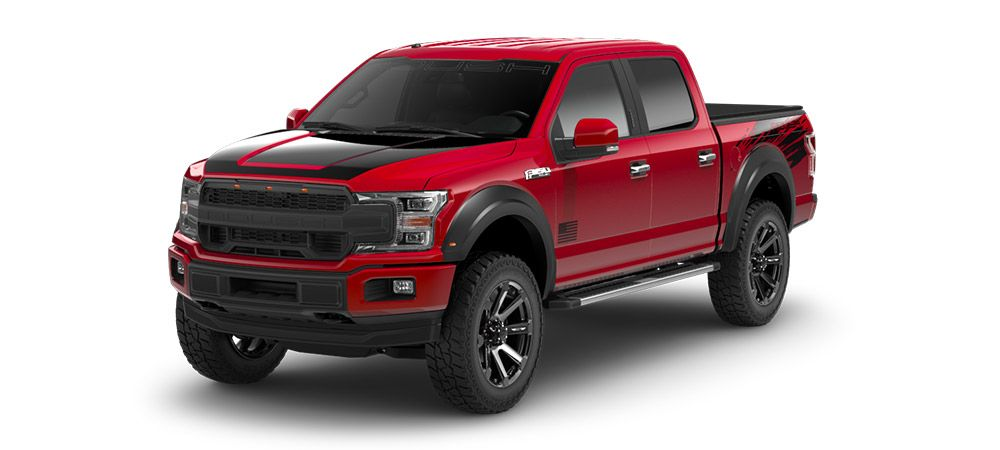 2018 Roush F 150 With Images Ford F150 Ford F150 Lifted 2019 Ford