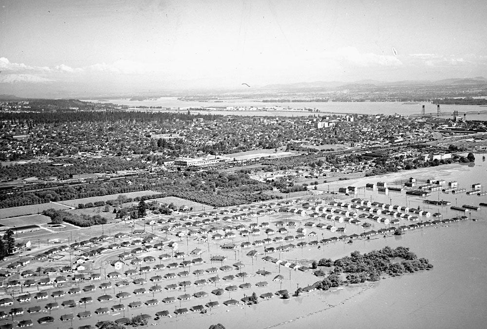 1948 an overview of vancouvers fruit valley with the