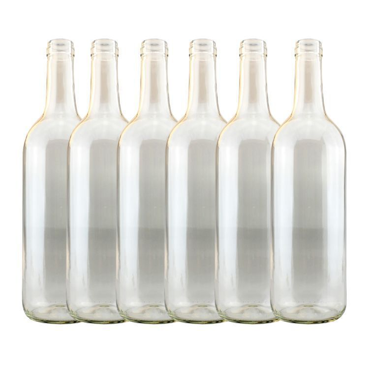 Clear Wine bottles 750ml x 15, Homebrew Wine making FREEPOST