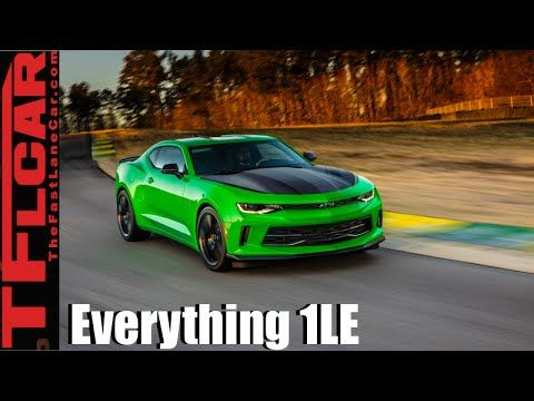 2017 Chevy Camaro 1le Everything You Ever Wanted To Know