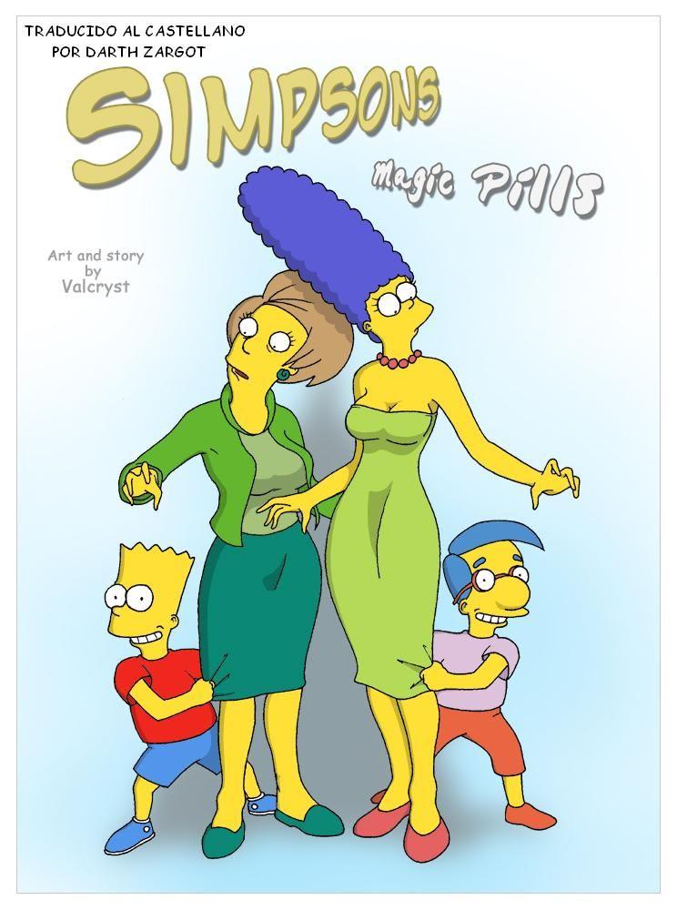los simpson comics porno