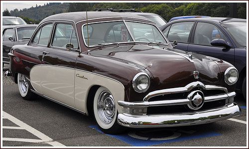 1950 Ford Custom 2 Door Sedan Sedan Ford Ford Shoebox