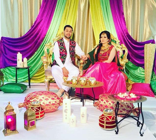 Afghan Wedding Decorating Items In 2019 Afghan Wedding Afghan