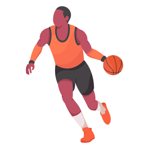Basketball Player Flat Png Image Download As Svg Vector Transparent Png Eps Or Psd Use This Basketball Player Flat Svg In 2021 Basketball Players Players Mo Design
