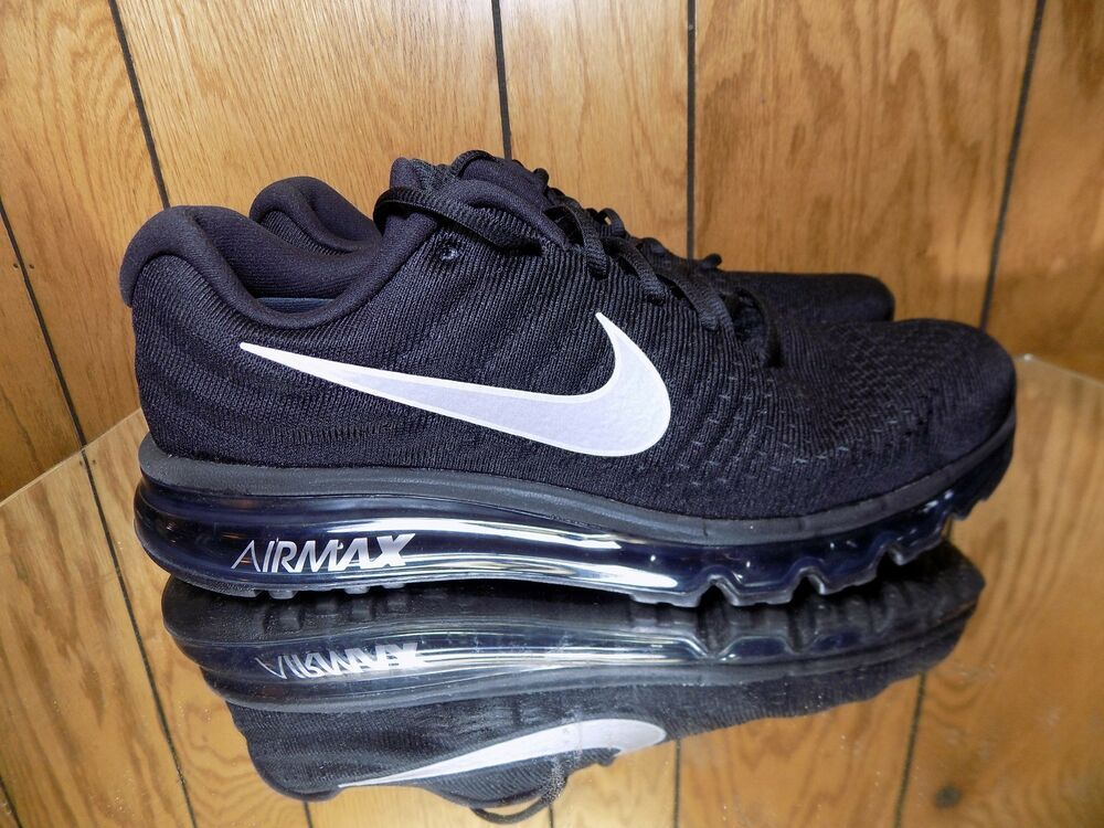new styles b6d6a 64ef1 NIKE AIR MAX 2017 Women s Running Shoe 849560-001 Black Anthracite White s