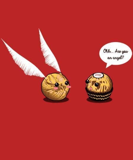 Ferrero Meets Snitch Cheap Ferrero Meets Snitch Harrypotterfacts Harry Potter Tumblr Lustige Harry Potter Memes Harry Potter Lustig
