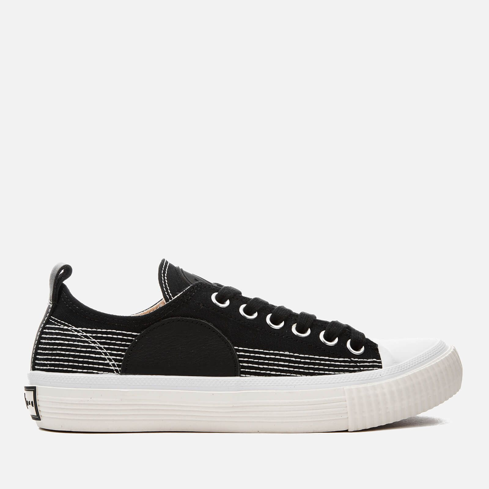 209cf93ef029 McQ Alexander McQueen Women s Canvas Low-Top Trainers - Black - Free UK  Delivery over