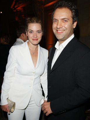 Sam Mendes And Kate Winslet At The Premiere Of Road To Perdition In 2002 Kate Winslet Sam Mendes Premiere