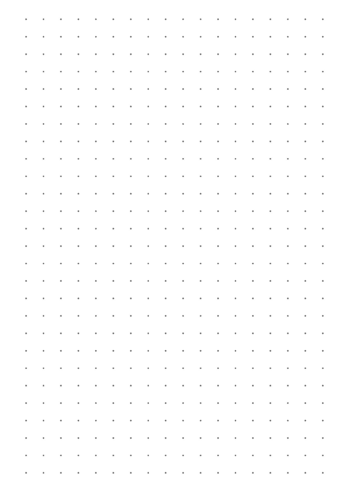 Printable Dot Grid Paper With 7 5 Mm Spacing Pdf Download Plantillas De Letras Para Imprimir Adornos Para Cuadernos Hoja De Cuaderno